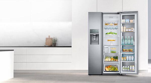 Vì sao nên chọn kích thước tủ lạnh side by side Samsung?