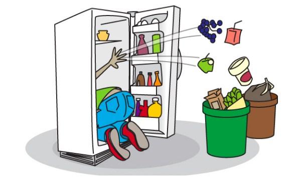 20 phút vệ sinh tủ lạnh side by side