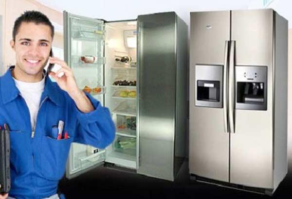 Sửa tủ lạnh side by side Toshiba không đông đá