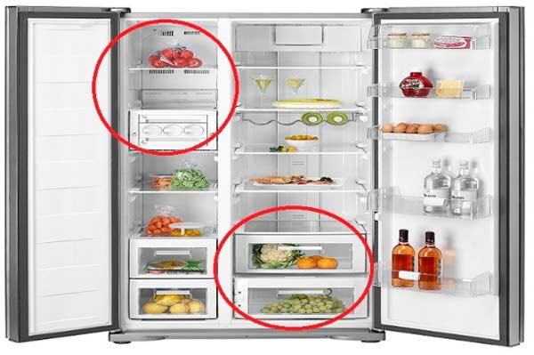 Những lưu ý khi mua tủ lạnh Side by Side
