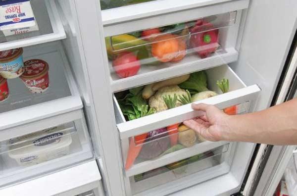 Vấn đề hay gặp trên tủ lạnh side by side vào mùa hè