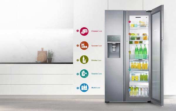 Top 3 tủ lạnh side by side Samsung có dung tích lớn nhất