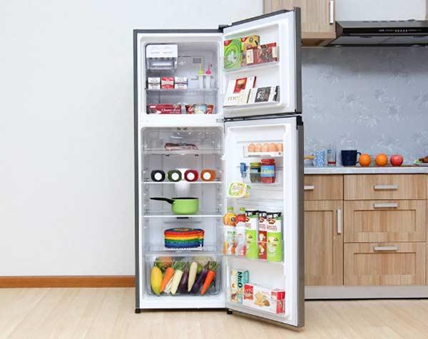 5 chiếc tủ lạnh Inverter giá rẻ dưới 8 triệu