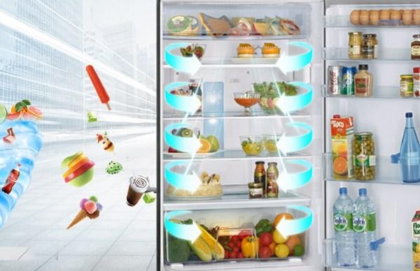 Khám phá công nghệ làm lạnh đa chiều trên tủ lạnh