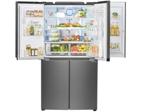 Review tủ lạnh 3 tầng lọc GR-W88FSK của LG