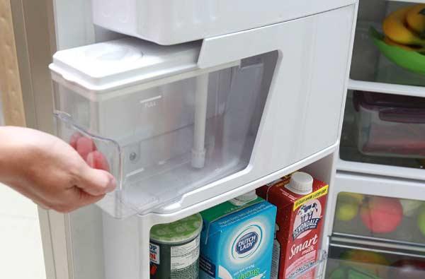 Tủ lạnh Side by Side không lấy nước làm đá